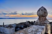 Lookout Tower In Zadar