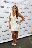 LOS ANGELES - MAY 3:  Kristinia DeBarge at the RESTORSEA Gifting of Skin Care Product at NEMO on May 3, 2014 in West Hollywood, CA