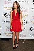 LOS ANGELES - APR 27:  Sammi Hanratty at the Ryan Newman's Glitz and Glam Sweet 16 birthday party at
