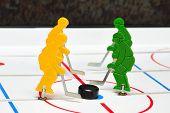Four Hockey Player