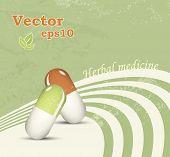 Herbal medicine - medical natural healthcare concept - alternative pharmaceutical