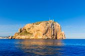 Cabo de San Antonio cape in Javea Denia Mediterranean sea of Spain