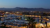 Los Cabos, Mexico Night View From Above