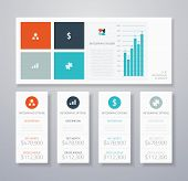 Flat Infographic Ui Elements
