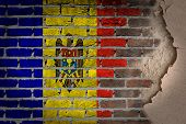 Dark Brick Wall With Plaster - Moldova