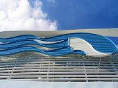 Princess cruise line ship at Baltic sea