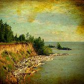 Vintage Photo Landscape