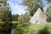 Pavilion Pyramid. Catherine Park. The town of Pushkin. Russia.