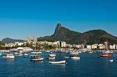 Rio de Janeiro with Corcovado Mountain and Christ the Redeemer