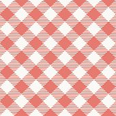 Seamless texture of red plaid