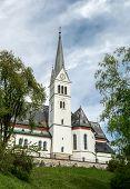 Saint Martin Church In Bled