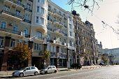 Beautiful Building On Bogdana Khmel'nitskogo Street, Kiev