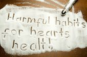 Harmful habits for hearts healt !