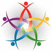 HR colorful symbol