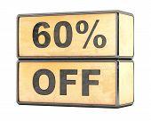 60 percent Sale Discount