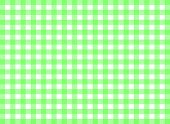 Easy tilable green gingham repeat pattern