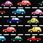 cars on the road
