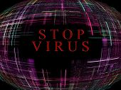 Virus Epidemic Concept.digitally Generated Image.