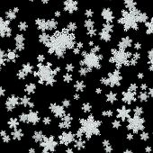 Snowfall Generated Texture