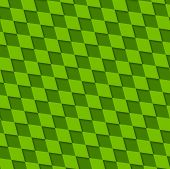 Abstract green squares pattern. Vector design