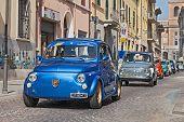 Vintage Fiat 500 Abarth