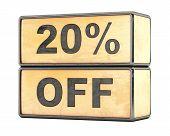 20 percent Sale Discount