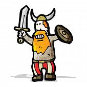 cartoon viking