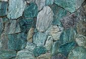 Colorful Flat Stones