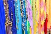 Belly dancers' scarfs