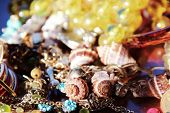 Beads and sea shells