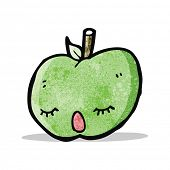 pretty apple cartoon