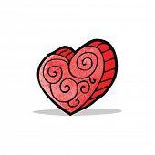 heart cartoon symbol