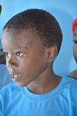 Unidentified child living in Mondesa slum