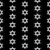 Magen David Seamless Pattern
