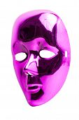 Pink mask Isolated