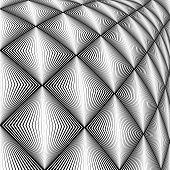image of quadrangles  - Design diamond convex texture - JPG
