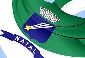 image of natal  - 3D Flag of Natal - JPG