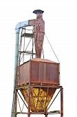 picture of centrifuge  - Dust purification cyclone air vortex separation separator - JPG