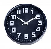 foto of analog clock  - clock or wall clock  - JPG