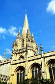 picture of church-of-england  - University church of St Mary Oxford Oxfordshire England UK Western Europe - JPG