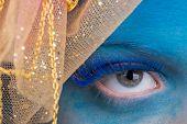 image of eye-wink  - Eye Makeup - JPG