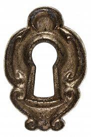 picture of keyholes  - Keyhole isolated on white background - JPG