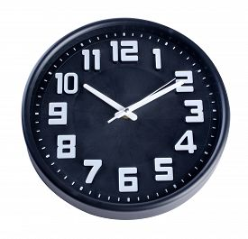 image of analog clock  - clock or wall clock  - JPG