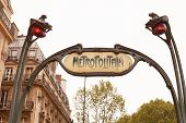 picture of art nouveau  - Art Nouveau influenced signs for the Paris M - JPG