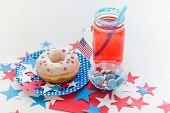 stock photo of patriot  - american independence day - JPG