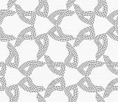 picture of dot pattern  - Monochrome dotted texture - JPG