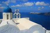 picture of chapels  - At the front of Skaros Rock - JPG