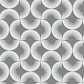 picture of semi-circle  - Seamless geometric pattern  - JPG
