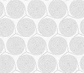 stock photo of merge  - Gray seamless geometrical pattern - JPG
