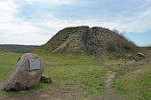 foto of burial  - Burial mound - JPG